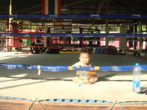 на ринге
