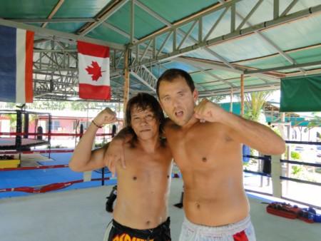 Игорь и Петин после тренировки