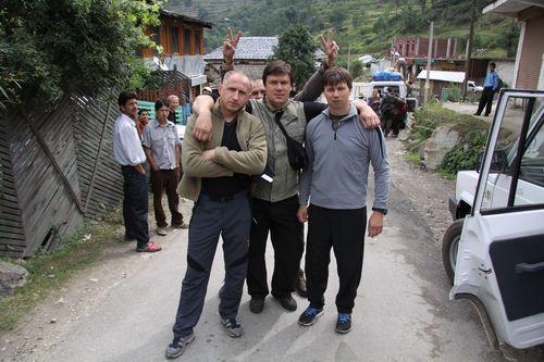 Олег, Игорь и Паша